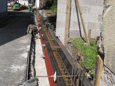 Beton- und Mauerarbeiten